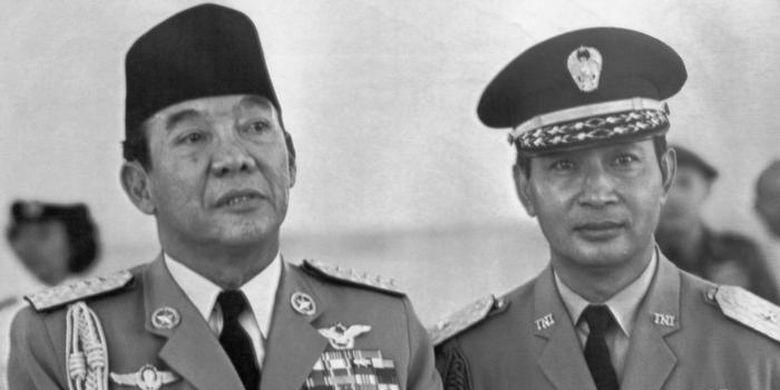 Pada 1965, Sekutu Barat mendukung para jenderal Angkatan Darat karena mencurigai Soekarno condong ke komunis.