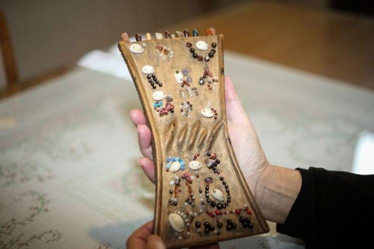 Lukasa dulunya digunakan sebagai alat pengingat portable.
