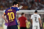 Barcelona Vs Valencia, Lionel Messi cs Gagal di Final Copa Del Rey