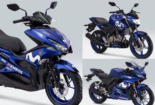 Sentuhan Yamaha M1 Rossi di R15, Vixion, dan Aerox