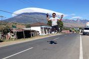 Kerap Terjadi, Ini Beberapa Potret Awan Topi di Gunung Rinjani Lombok