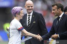 Piala Dunia Wanita, FIFA dan Presiden Perancis Jadi Korban Cemoohan