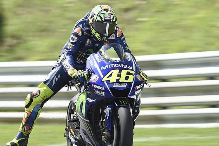 Valentino Rossi siap ke Aragon