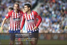 Real Sociedad Vs Atletico Madrid, Morata Bahagia Cetak 2 Gol