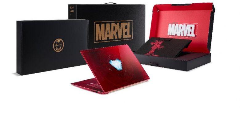 Seri Laptop Acer edisi spessial Avenger: Infinity War yang dijual dengan jumlah terbatas
