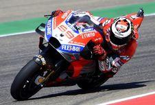 Kualifikasi MotoGP Aragon, Lorenzo Terdepan, Rossi Ke-18
