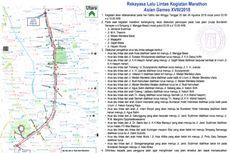 Catat, Ada Penutupan Jalan Jakarta Akhir Pekan Ini
