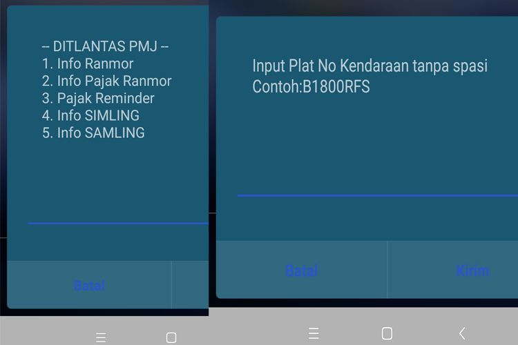 Cara Jitu Cek Pajak Kendaraan Pake Nih Nomor !! (Jakarta Only)