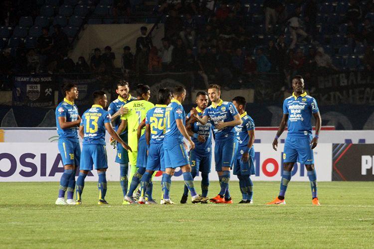 Tim Persib Bandung. (KOMPAS.com/SEPTIAN NUGRAHA)