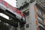 Di China, Kereta Bisa Menembus Apartemen