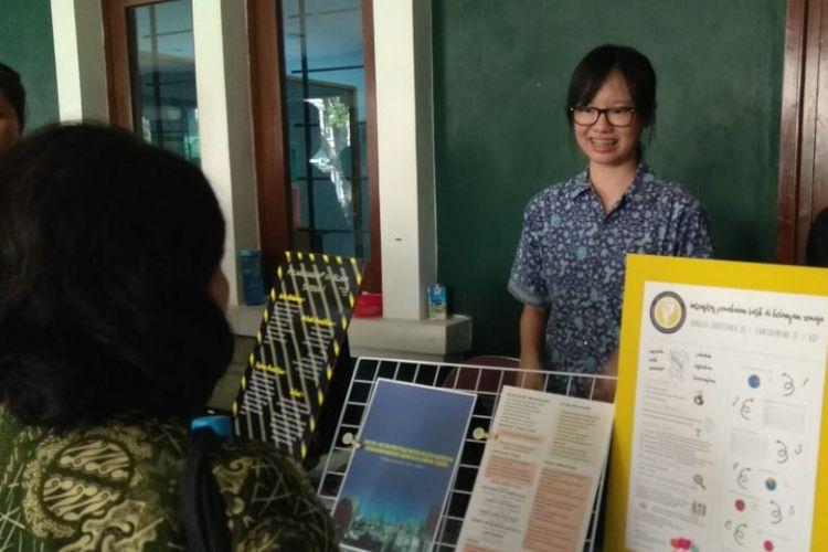 Pameran Proyek Penelitian SMA Santa Laurensia (11/5/2018)