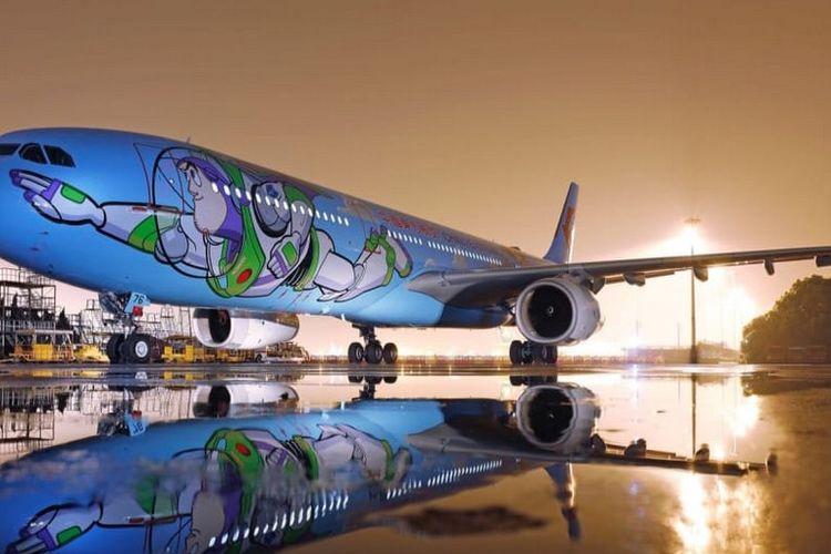 Imutnya Pesawat Bertema Tokoh Kartun Toy Story