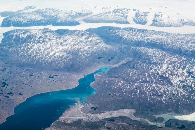 Bandara Narsarsuaq di Greenland.