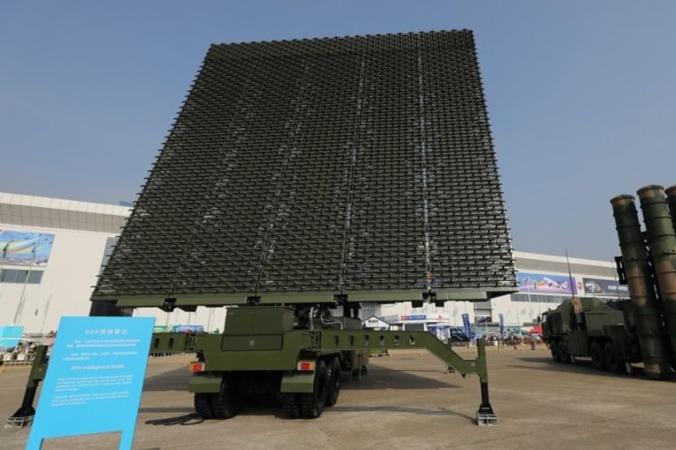 Sistem radar intelijen 609 buatan China.
