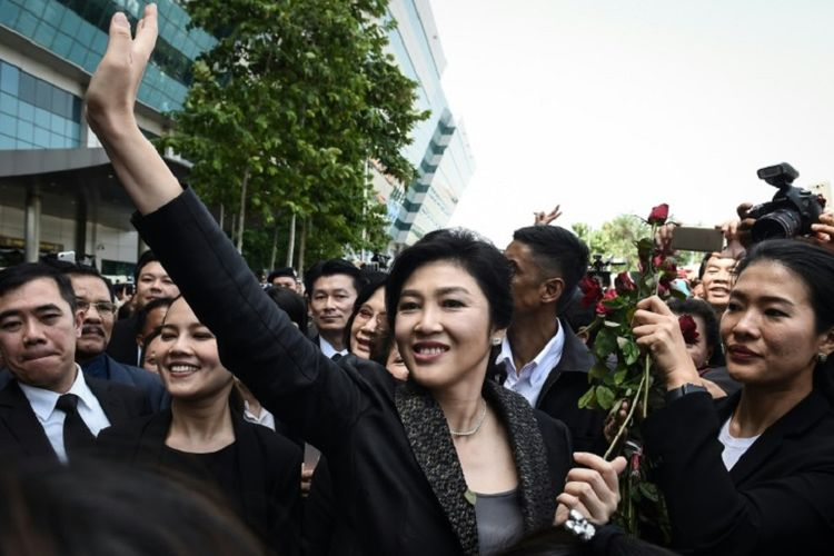 Mantan Perdana Menteri Thailand Yingluck Shinawatra