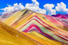 Keajaiban Alam Pegunungan Pelangi Ternyata Juga Ada di Peru