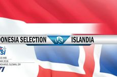 Babak 1, Indonesia Selection Tertinggal 0-1 dari Islandia