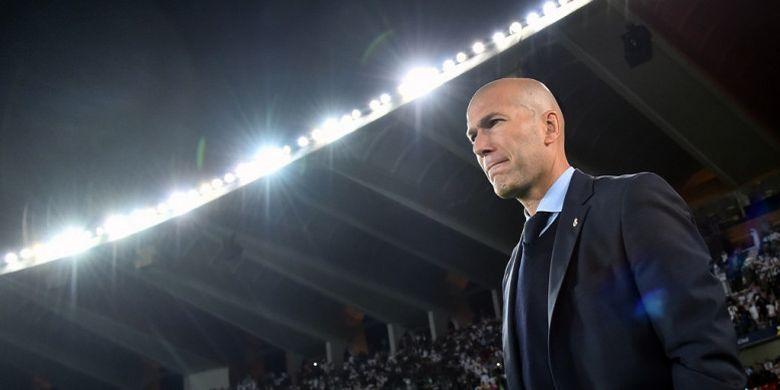 Zidane amat Jeli Merespons pergantian Taktik PSG