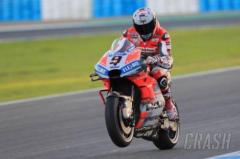 Hasil FP3 MotoGP Spanyol, Danilo Petrucci Lanjutkan Kejutan