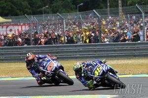 Rossi dan Vinales Berebut Posisi Ketiga Juara Dunia MotoGP