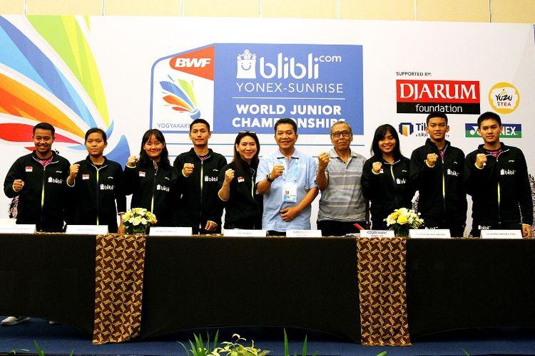 Manajer tim Indonesia, Susy Susanti menyampaikan targetnya di kejuaraan kali ini. Setidaknya satu emas di nomor perorangan sudah menjadi incaran, sedangkan di nomor beregu menargetkan posisi di babak semifinal.
