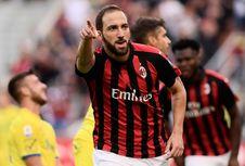Inter Milan Vs AC Milan, Romagnoli Anggap Higuain Penyerang Hebat