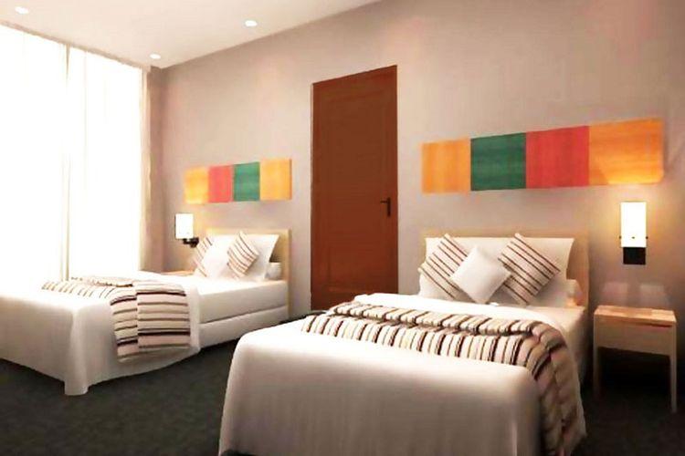 Kamar superior room Hotel Plaza Semarang.