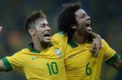 Marcelo Sebut Neymar Lebih Baik Ketimbang Eden Hazard