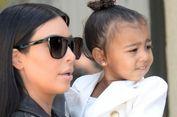 Pertama Kalinya, Putri Kim Kardashian Jadi Model Sampul Majalah