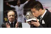 Presiden Real Madrid Bantah Ronaldo Akan Pindah