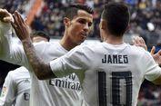 Berita Transfer, Ronaldo Bisa Reuni dengan James Rodriguez di Juventus
