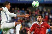 Hanya Ada 1 Bek Murni saat Madrid Lawan Sevilla