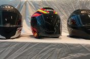 Helm juga Bisa Dilapis Batik