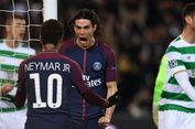 Cavani Terpilih sebagai Pemain Asing Terbaik Liga Perancis 2017
