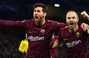Iniesta Sebut Wasit Rampas Kemenangan Barcelona atas Las Palmas