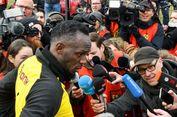Gol Sundulan Usain Bolt Bikin Kiper Dortmund Bengong