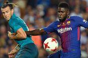 Selebrasi Saat Lawan AS Roma Isyaratkan Umtiti Betah di Barcelona