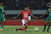 Hasil Liga 1, Sriwijaya FC Menang atas Bali United, PSMS Bangkit