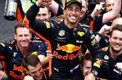 Finis Pertama di Monako, Daniel Ricciardo Sempat Putus Asa