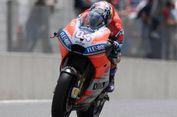 Live MotoGP: Dovizioso Terjatuh