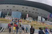 Stadion St Petersburg, Bangunan 1.000 Anak Tangga