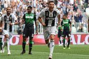 5 Fakta Juventus Vs Sassuolo, Akhir Penantian Gol Cristiano Ronaldo