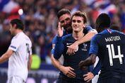 Cetak 2 Gol ke Gawang Jerman, Griezmann Sejajar Wiltord