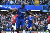Hasil Chelsea Vs Man United, Gol Ross Barkley Selamatkan The Blues