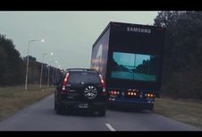 Canggih, Truk Volvo Pakai Layar Samsung buat Cegah Kecelakaan