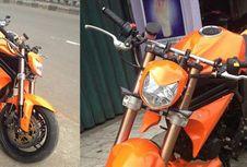 Modifikasi Minor Fighter, Bikin Motor Jadi 'Nungging'