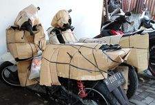 Berbagai Alternatif Mengirim Roda Dua Sambut Lebaran