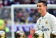 Trofi Ballon d'Or 2013 Milik Ronaldo Laku Rp 9,5 Miliar
