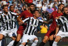 Bertandang ke Turin, AS Roma Berbekal Catatan Minor