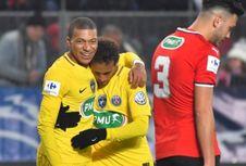 Presiden PSG Bantah Neymar dan Mbappe Tak Harmonis